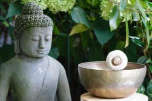 Klangschale Budda 2